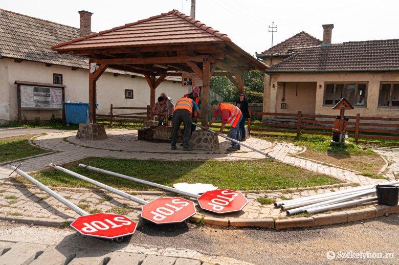 Két utcát aszfaltoztak le Csíkszentsimonban