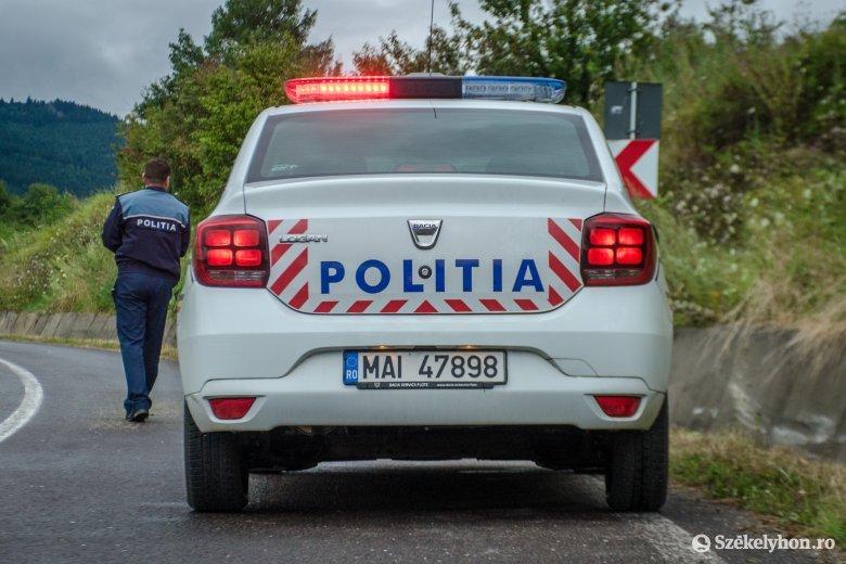 Baleset miatt áll a forgalom Maroshévíz és Borszék között