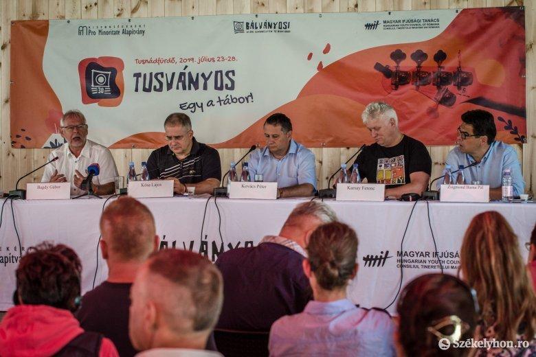 Kósa Lajos Tusványoson: amit a magyarországi ellenzék képvisel, az ostobaság