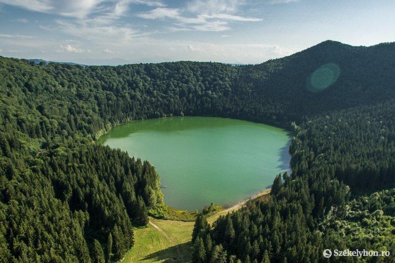 Sürgős közbelépés szükséges a Szent Anna-tó megőrzése érdekében