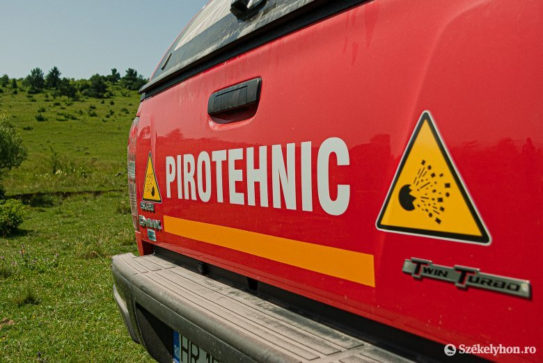 Több száz második világháborús töltényt találtak Csíkszentmárton közelében