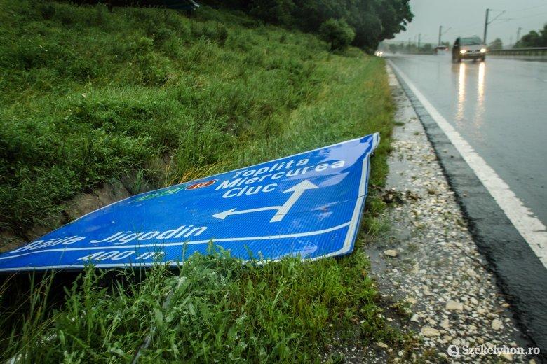 Székelyföldre szerdától jósolják a jelentős csapadékkal érkező vihart