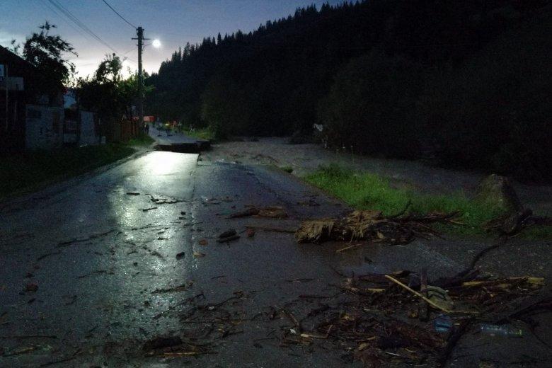 Hatalmas károkat okozott az áradás Hidegségen és környékén
