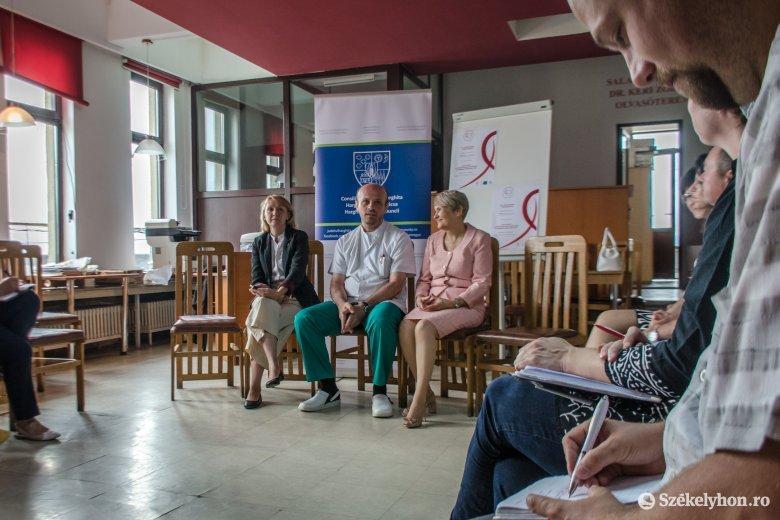 Érdekes előadásokkal és nyitott kapukkal tartanak kórháznapokat Csíkszeredában