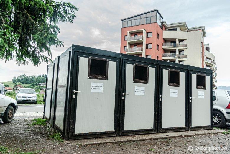 Szelektív hulladékgyűjtés különböző megoldásokkal