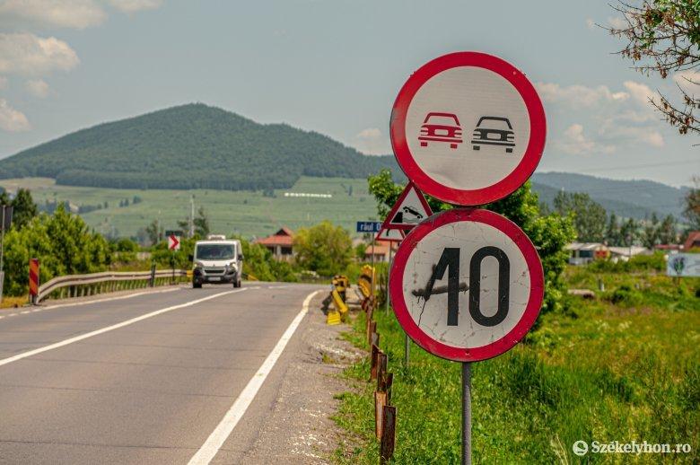 10 sebességkorlátozási kérdés