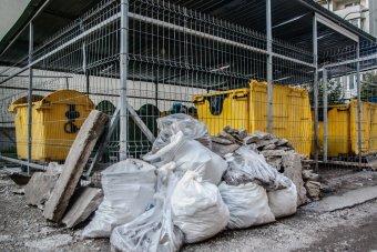 Az építkezési hulladék törvényes útja: lakásfelújítás után gondoskodni kell a törmelék elszállításáról