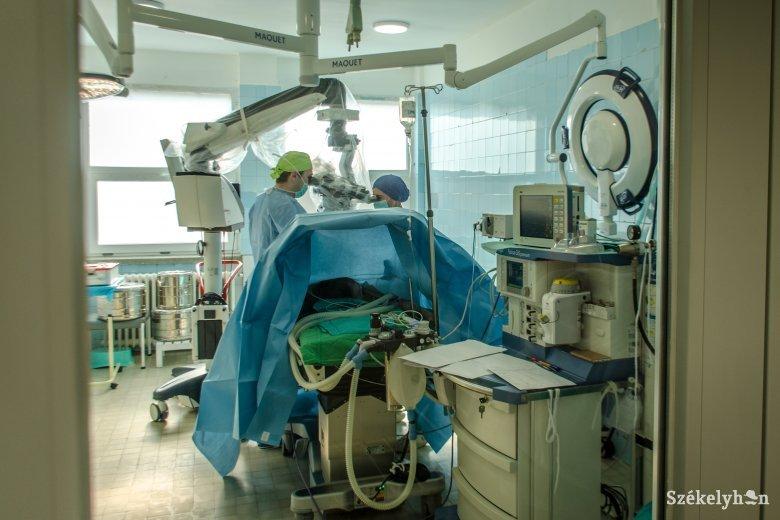 Ismét folyamatosan végeznek műtéteket a székelyföldi kórházakban