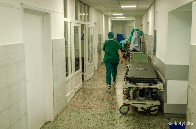 11 új koronavírus-fertőzést regisztráltak a csíkszeredai kórházban az elmúlt két napban