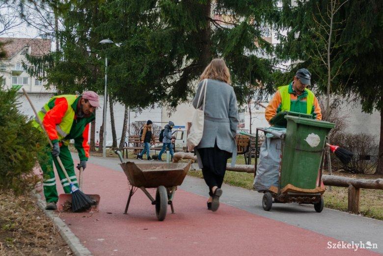 Seprés, portalanítás, hulladékgyűjtés: elkezdődött a tavaszi nagytakarítás