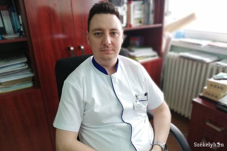 Csökkenő várólisták – új onkológusa van a csíkszeredai kórháznak