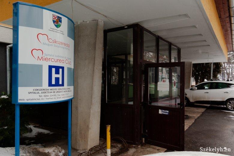 Egészségügyi alkalmazottak fertőződtek meg a csíkszeredai kórházban