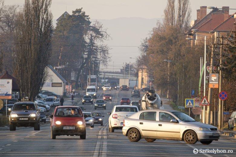 Változásokat tervez a forgalmas Brassói úton Csíkszereda új városvezetése