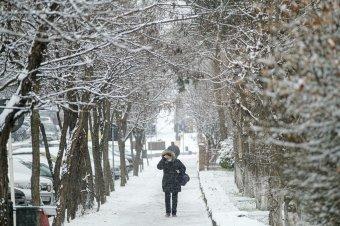 Tizenöt megyében várható havazás az elkövetkező órákban