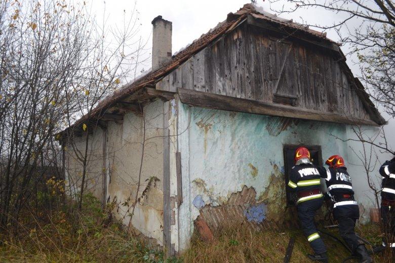 Tűz ütött ki egy csíkszentsimoni házban
