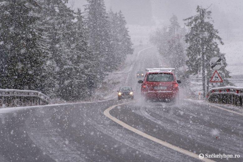 Lehűlés, havazás, felerősödő szél – ez várható a hétvégén