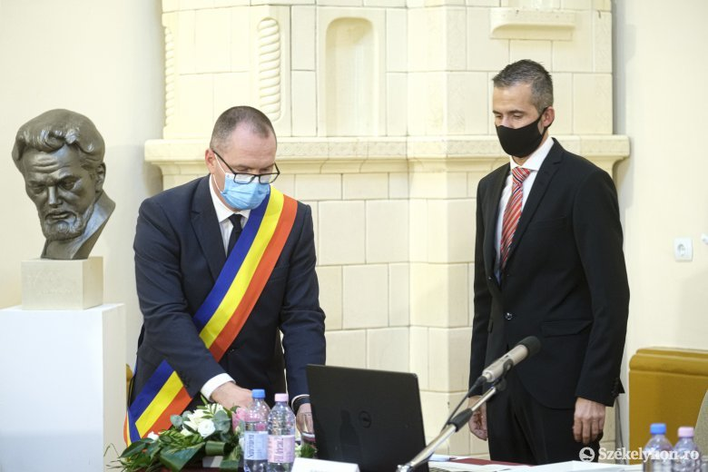Immár hivatalos: Korodi Attila Csíkszereda új polgármestere