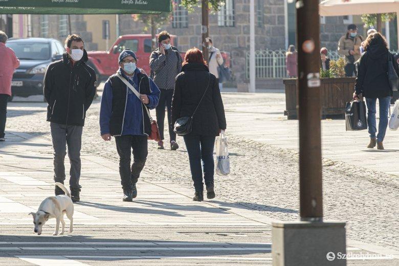 Hargita megyében a harmadik legmagasabb a fertőzöttségi arány az országban