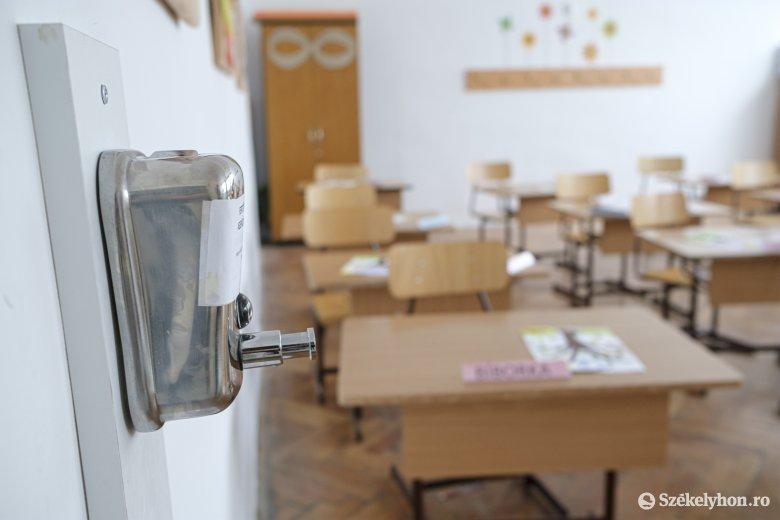Sepsiszentgyörgyön a sárga forgatókönyv szerint kezdődik az oktatás