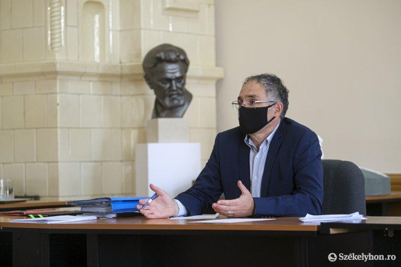 Megtartotta utolsó sajtótájékoztatóját polgármesterként Ráduly Róbert Kálmán