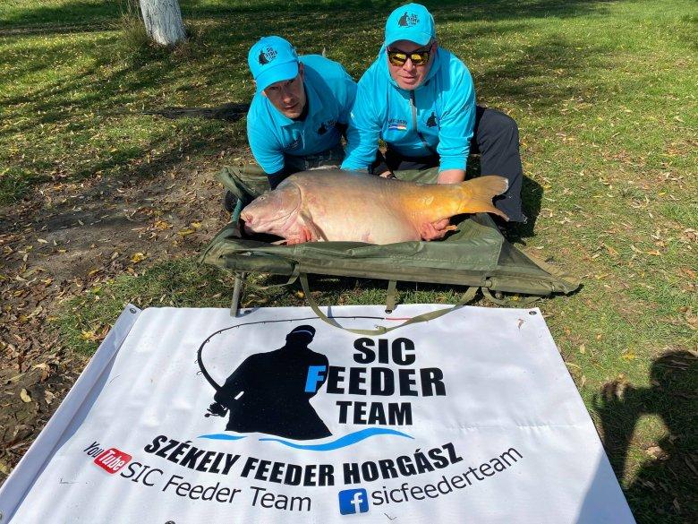 Rekordméretű halat fogott egy csíkszeredai horgász