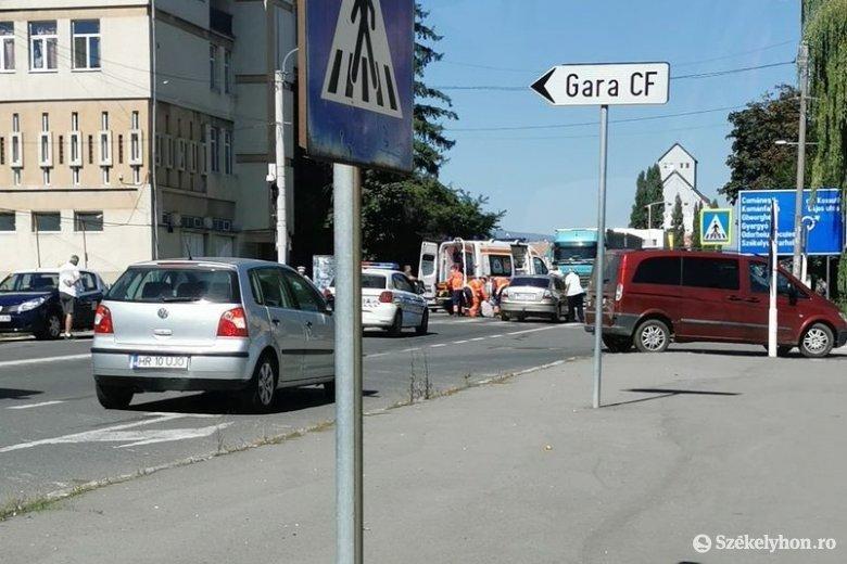 Bodzavásári férfi gázolt el egy madéfalvi nőt Csíkszeredában