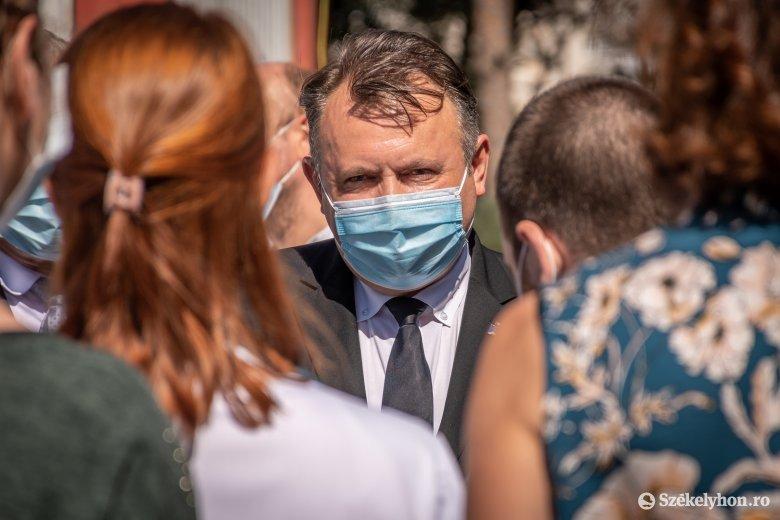 Sepsiszentgyörgyre látogatott Nelu Tătaru egészségügyi miniszter