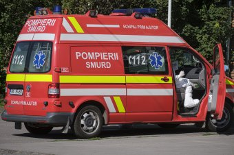 Tíz métert zuhant egy ipari lifttel két építőmunkás Kolozsváron