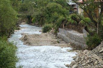Árvízveszélyre figyelmeztetnek Kolozs megyében