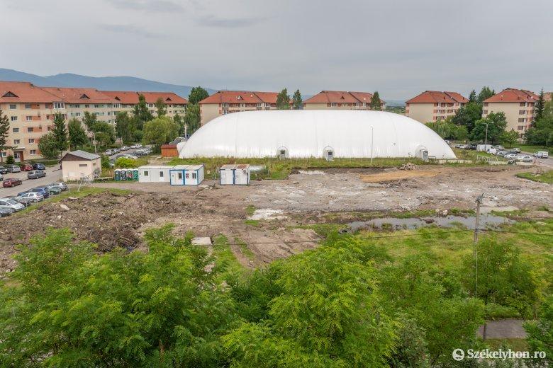 Elkezdődött az új csíkszeredai bölcsőde-napközi építése