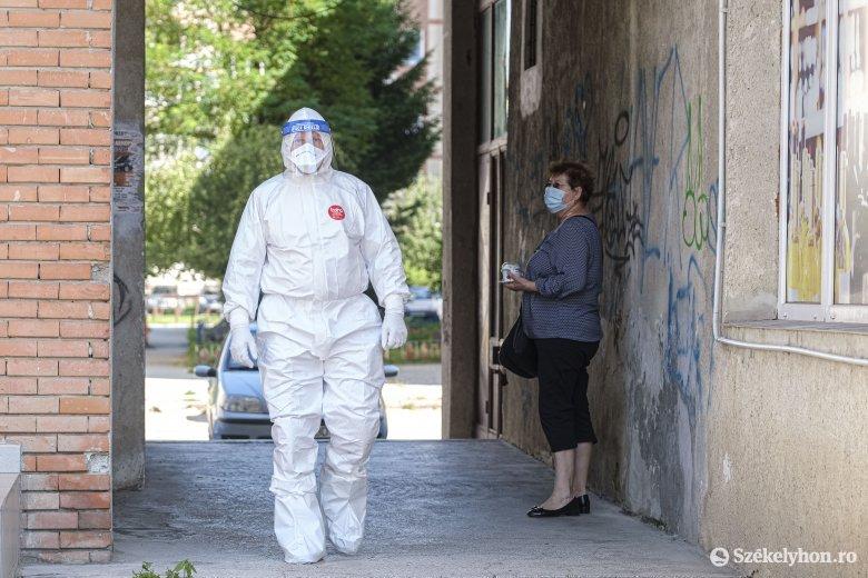 Péntek óta 52-vel emelkedett a fertőzöttek száma Maros megyében