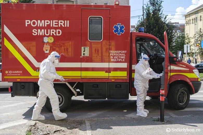 Huszonkét fertőzöttet jegyeztek Maros megyében