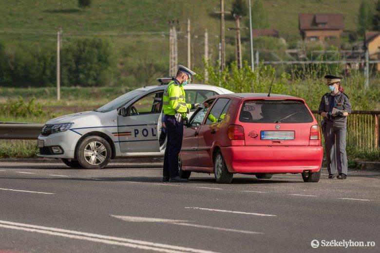 Egy nap alatt mintegy nyolcszáz sofőr jogosítványát vonták be
