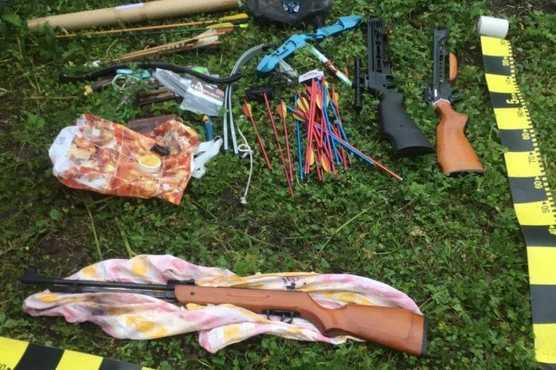 Kisebb fegyverarzenált találtak a rendőrök Hargita és Maros megyében