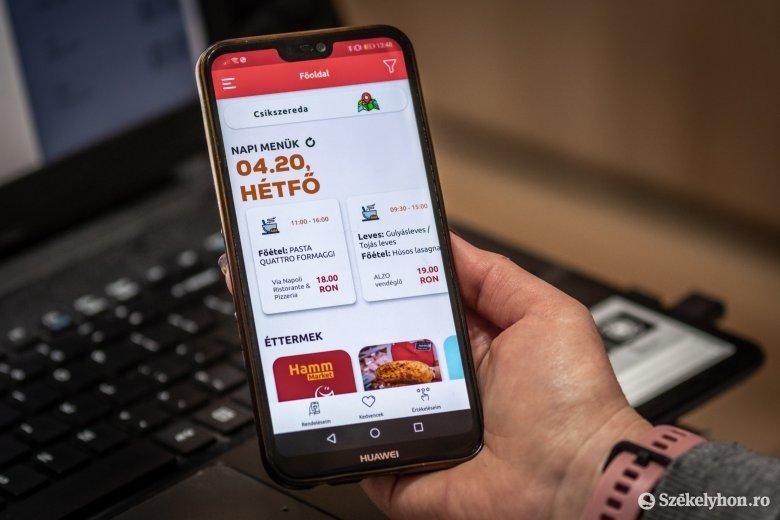 Megváltozott fogyasztói szokások: az ételrendelés mellett már a telefonos bevásárlásra is van lehetőség
