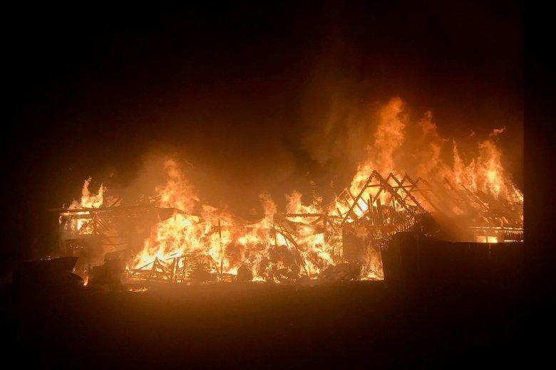 Jelentős károkat okozott a Csíkszentimrén pusztító tűzeset