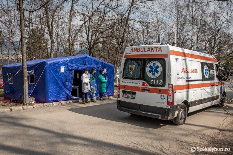 Eddig húsz személy fertőződött meg koronavírussal a csíkszeredai kórház kardiológiai osztályán