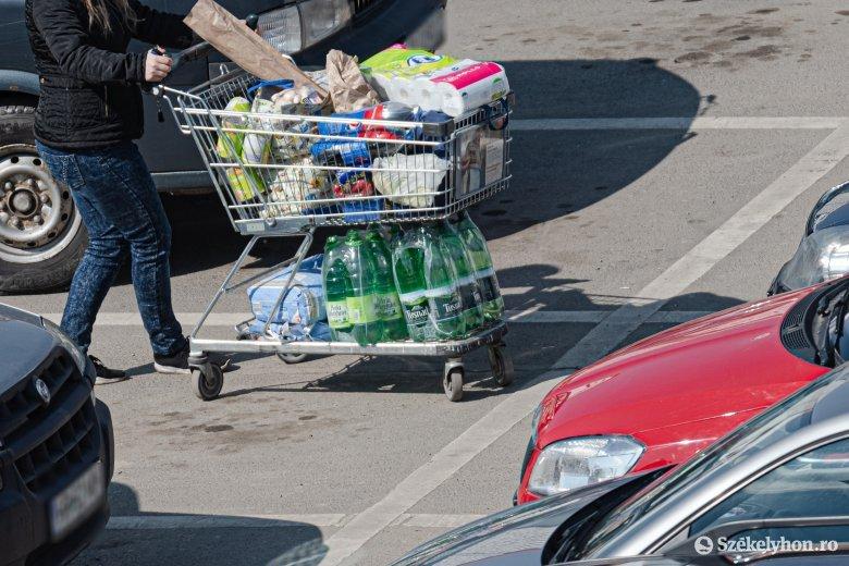 Folyamatosan növekednek az élelmiszerárak Romániában