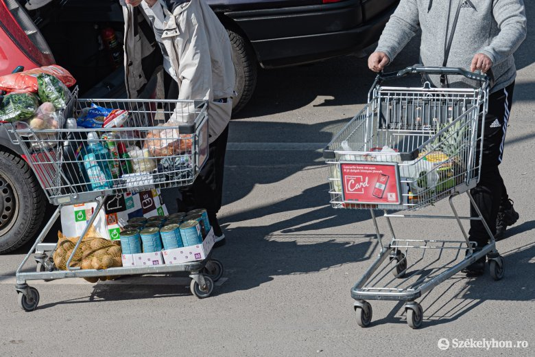 Élelmiszerdrágulás: többet költünk, mégis kevesebb a mennyiség