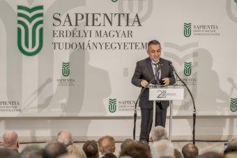 Potápi: megkerülhetetlenné vált a Sapientia a Kárpát-medencei egységes magyar oktatási térben