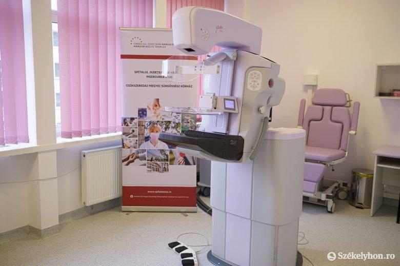 A melldaganatok szűrésére és kezelésére irányuló készülékkel gazdagodott a csíkszeredai kórház