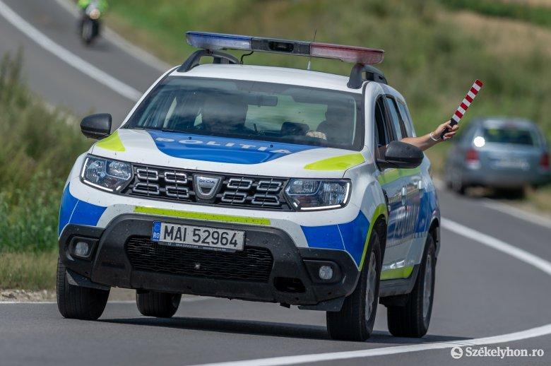Ezért vonultak ki az utakra kedden délután a Hargita és Maros megyei rendőrök is