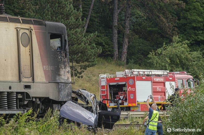 Kézdivásárhelyi házaspár vesztette életét a csíkszeredai vonatbalesetben