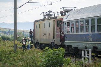 Elütött a vonat egy embert a Kolozs megyei Apahidán