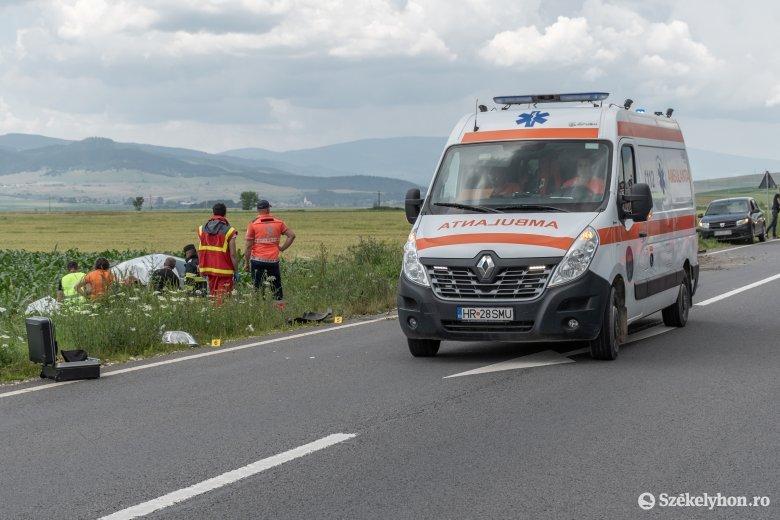 A kisteherautó miatt következett be a halálos baleset