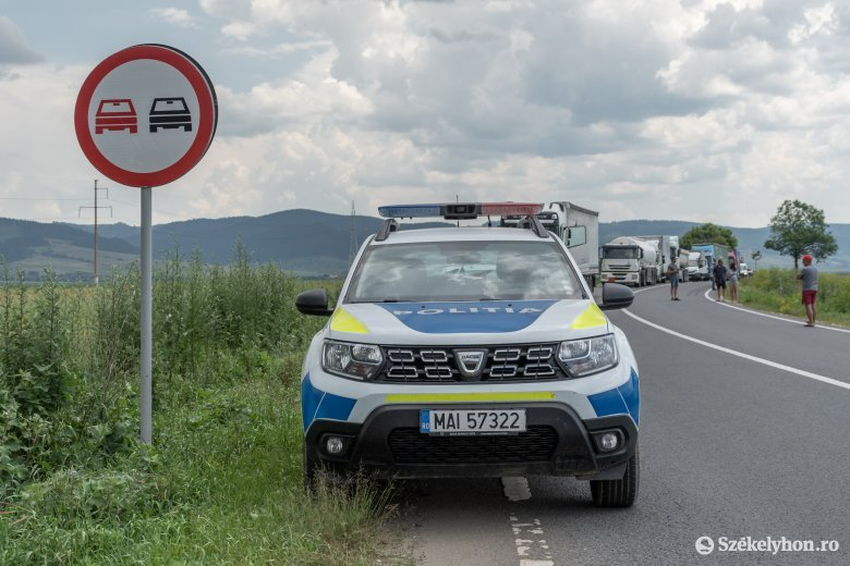 Két közúti baleset Gyergyószéken