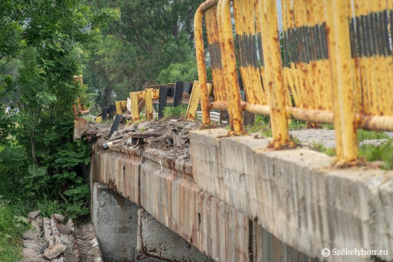 Csapnivaló infrastruktúra