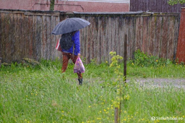 Fokozatosan felmelegszik az idő, de az esőtől egyelőre nem szabadulunk