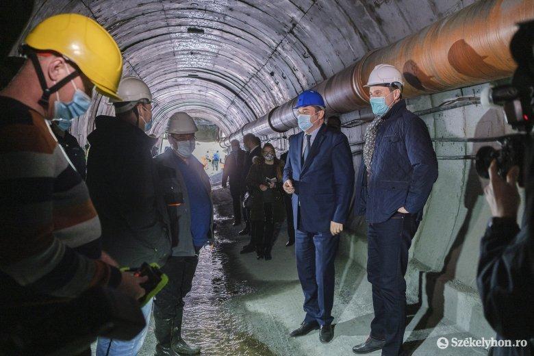 Folytatódnak a félbeszakadt munkálatok a várbükki bányánál