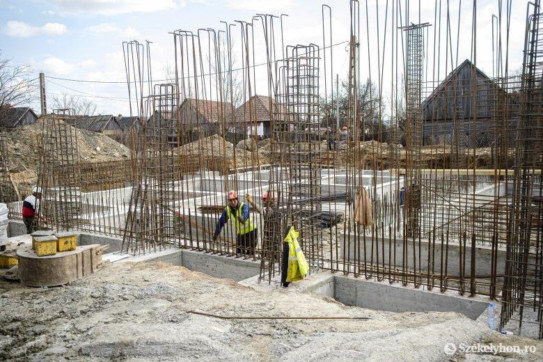 Romániában 0,6 százalékkal csökkent az építőipari termelés az első két hónapban